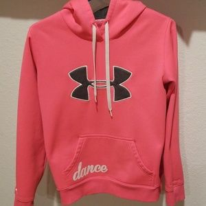 Under armor dance hoodie size small